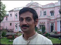 Manvendra Singh Gohil, the Prince of Rajpipla
