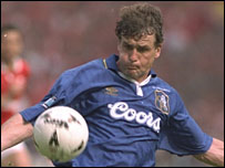 Hughes was one of the elder statesmen in Chelsea's 1997 Cup-winning team