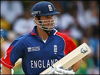 Michael Vaughan's 30 runs were extremely important