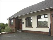 Arthur McGarrigle's home where bomb was left
