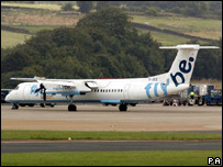 The Flybe Bombardier DHC-8-400