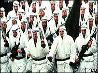 Bosnian wartime army regiment in Zenica