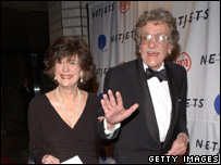 Kurt Vonnegut and Jill Krementz