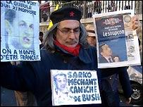 Paris demonstration led by Jose Bove