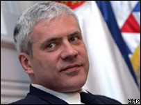 Serbian President Boris Tadic