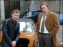Life on Mars actors John Simm (left) and Philip Glenister (right)
