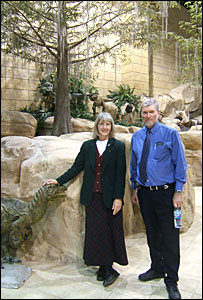 Eugenie Scott and Ken Ham
