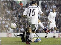 Steed Malbranque slashed the ball into his own net