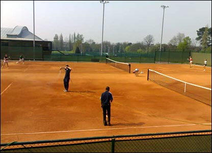 The construction of six clay courts gives junior and senior players a chance to train on a surface on which Britons have rarely excelled