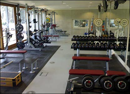The state-of-the-art gymnasium was put together under the guidance of Dr Ann Quinn, the LTA's new head of sports science