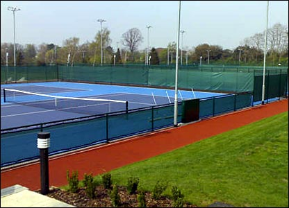 The six hard courts are similar to those used at the US Open