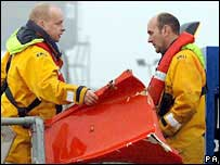 Morecambe bay wreckage recovered