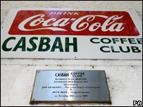 The Casbah coffee club in Liverpool where the Beatles first played.