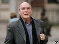 Neil Aspinall arrives at court for the Apple v Apple case