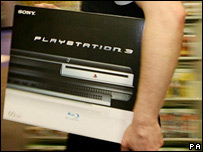 Playstation 3 in its box