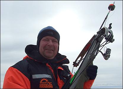 Field leader Mikkel Villum Jensen (Image: BBC)