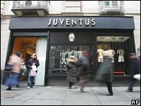 Juventus store in Turin