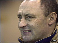 Motherwell manager Maurice Malpas