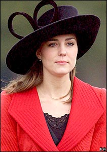 Kate Middleton was a guest at Sandhurst when William was commissioned as an officer in the British army.