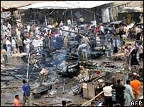 مشهد من تفجير كربلاء