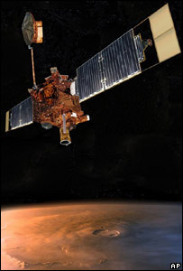 Sonda Mars Global Surveyor