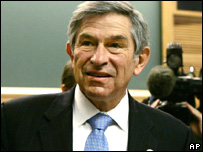 World Bank president Paul Wolfowitz