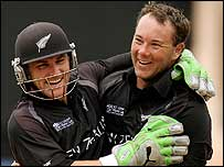 Brendon McCullum and Craig McMillan