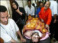 أحد ضحايا العنف في العراق