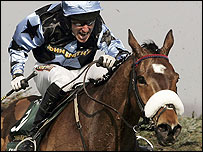 Jockey Robert Power and Silver Birch