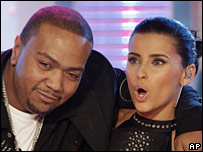 Timbaland and Nelly Furtado