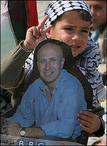 Niño en los territorios palestinos