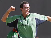 Ireland captain Trent Johnston