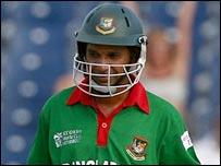 Bangladesh skipper Habibul Bashar