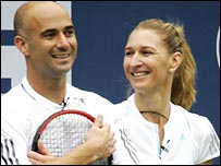 Andre Agassi and Steffi Graf.