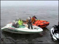 Group stranded off north Wales coast on Sunday