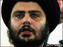 Moqtada al-Sadr (Foto de archivo)