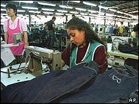 Far East sweatshop