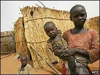Family in North Darfur