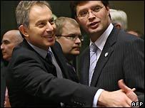 Blair and Balkenende