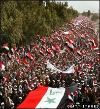 Pro-Sadr rally in Najaf