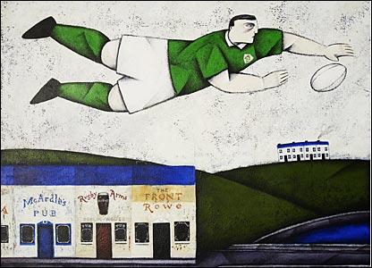 Irish Crossing, 2006, by Paine Proffitt