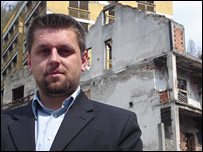 Camil Durokovic, who wants Srebrenica's status changed