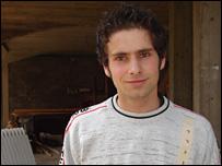 Adis, a waiter in Srebrenica