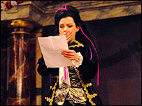 Beatrice reads a letter