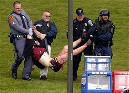 Police removed injured person from Virginia Tech after shootings