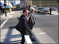 Joe Caruso y Anthony Natale, abogados de la defensa de Jos� Padilla