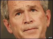 Presidente Bush habla a la naci�n sobre el tiroteo en Virginia Tech