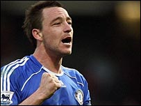 John Terry in action for Chelsea