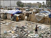 مساكن المهجرين داخل بغداد