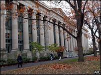 Building on Harvard campus